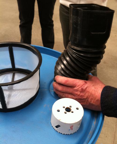 Building A Rain Barrel 171 Giantveggiegardener