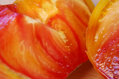 Virginia Sweet tomato inside
