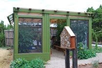 outside greenhouse