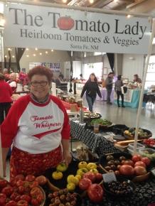 Tomato Lady at Farmer's Market